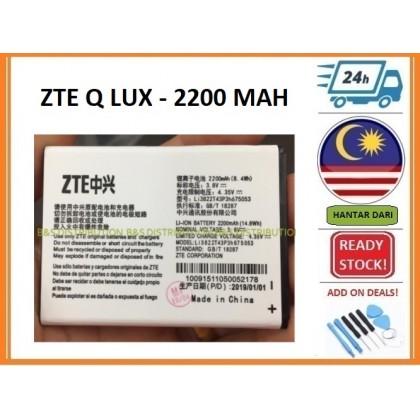 BSS Ori Zte Blade Q Lux A430 Battery Sparepart Repair 2200 mAh