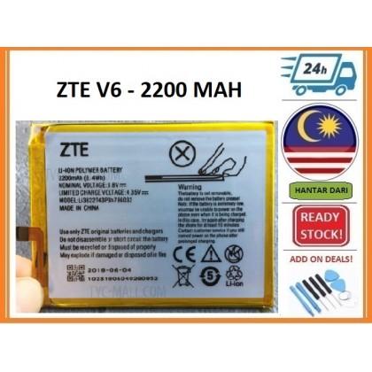 BSS Ori Zte Blade V6 D6 X7 Battery Replacement 2200 mAh Li3822T43P3h786032