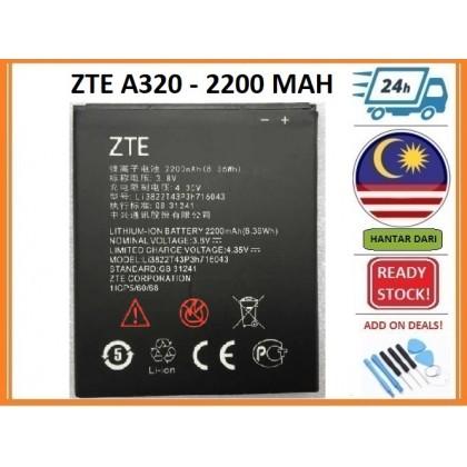 BSS Zte Blade A320 Battery Replacement 2200 mAh Li3822T43P3h716043
