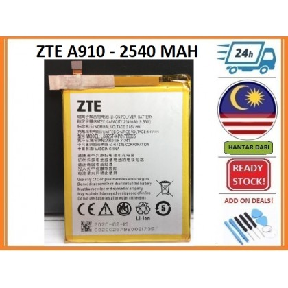BSS Zte Blade A910 V8 Battery Replacement Li3925T44P8H786035 2540 MAH