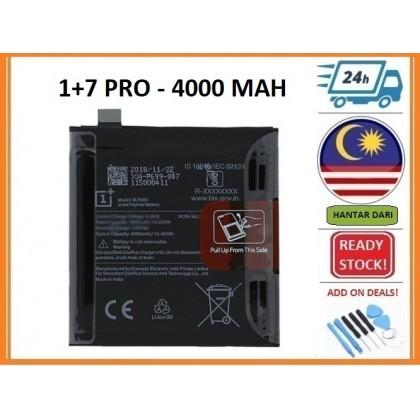 BSS 1 plus 1+ Seven 7 1+7 Pro Battery Replacement BLP699 4000 MAH
