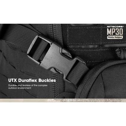 BSS Nitecore MP30 Tactical Multi-Purpose Modular MOLLE Backpack BLACK