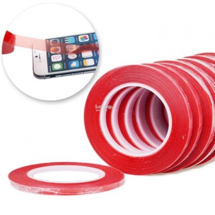 BSS Ori 3M Double Sided Sticky Tape Adhesive 1-5mm For Iphone Ipad Phone