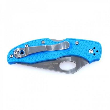 BSS Ganzo Firebird F759M-BL Back Lock FRN Handle Folding Knife Blue Pisau Lipat Budget Murah