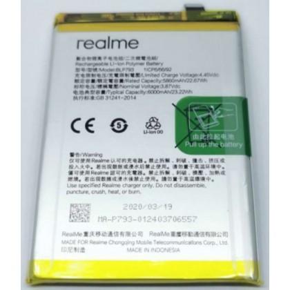 BSS Realme C12 RMX2189 C15 RMX2180 Battery Replacement BLP793 6000 mAh
