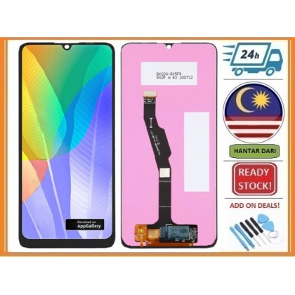 BSS HW Y6P MED-LX9 HONOR 9A LCD + TOUCH SCREEN DIGITIZER SPAREPART