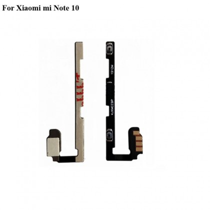 BSS Xiaomi Mi Note 10 Charging / On Off / Volume / Main Lcd Middle Board Ribbon Sparepart